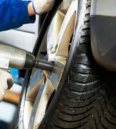 ruedas de coche neumáticos